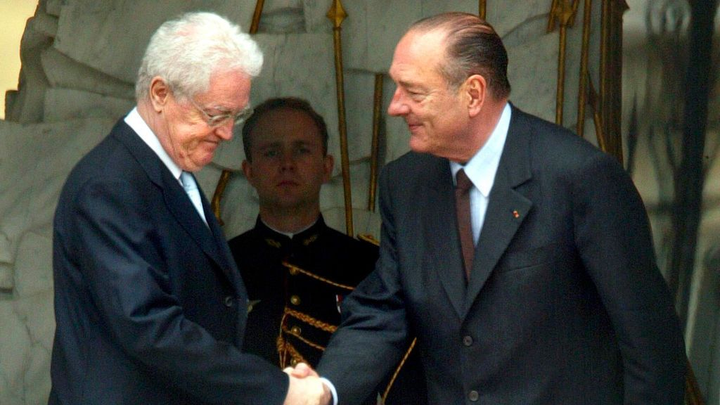 La vida de Jacques Chirac, en fotos