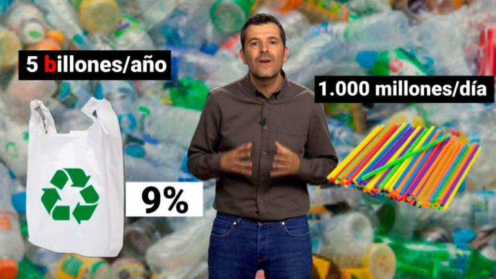 Los datos sobre el plástico que te pondrán los pelos de punta
