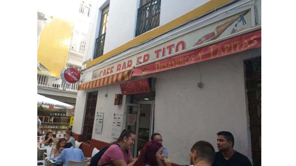 Bar Er Tito (Sevilla), uno de los establecimiento que ha dejado de vender carne mechada