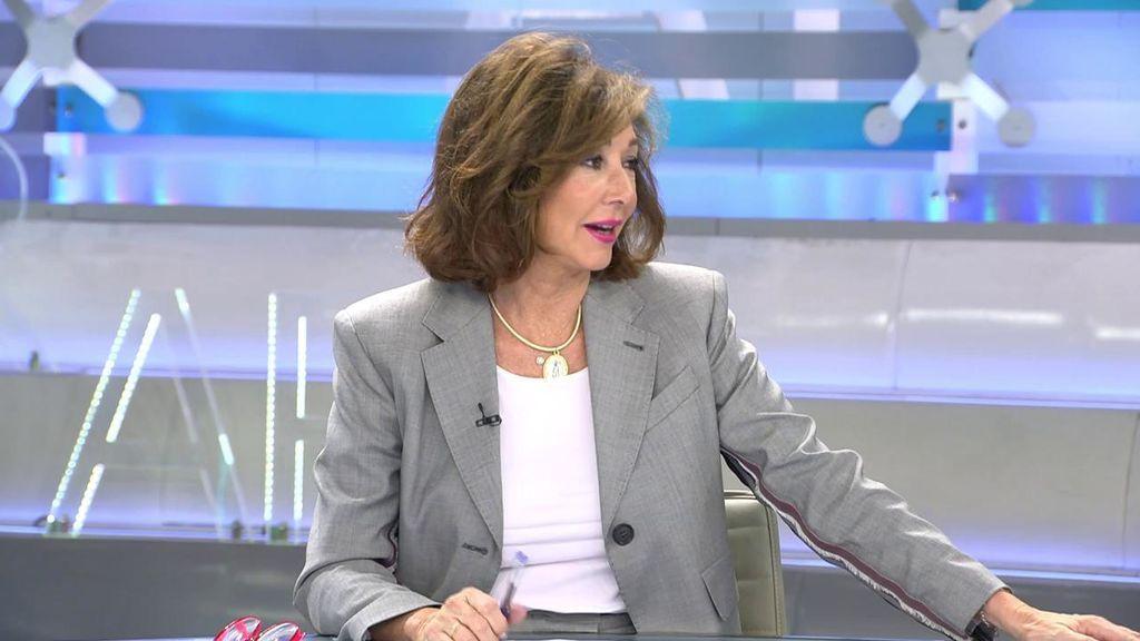 Ana Rosa llega con un look muy moderno