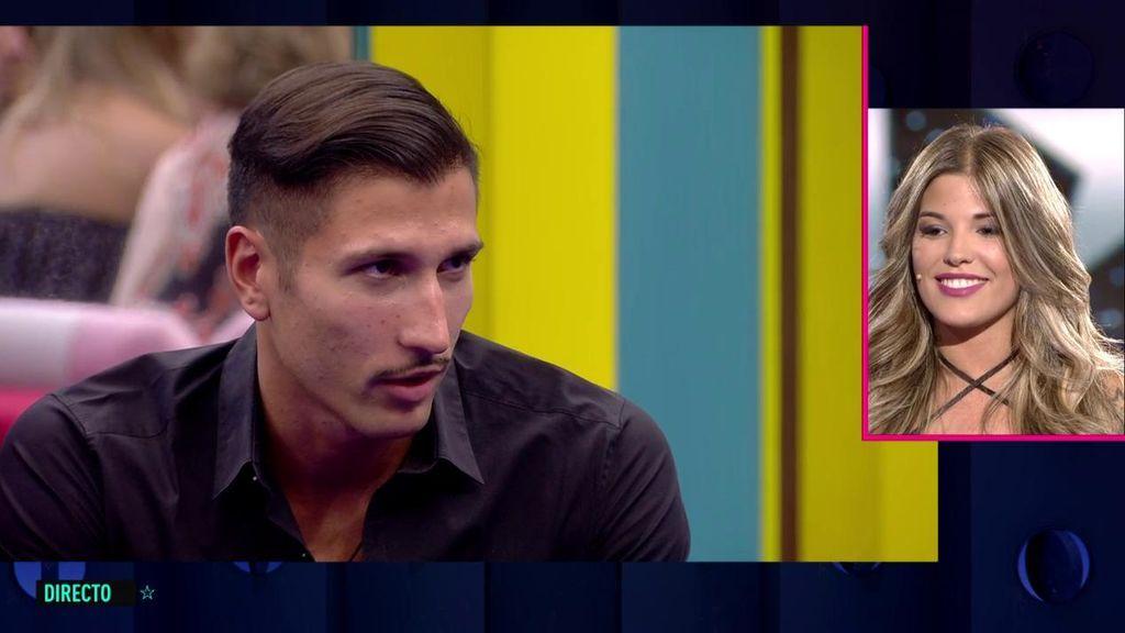 """Gianmarco se queda alucinado con la fría despedida de Nuria: """"Es un 'catacaldos' y quiere con todos"""""""