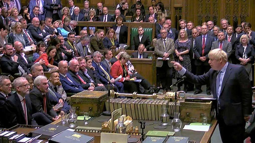 Boris contra al Parlamento, Boris contra todos el día de la reapertura tras la sentencia del Tribunal Supremo británico