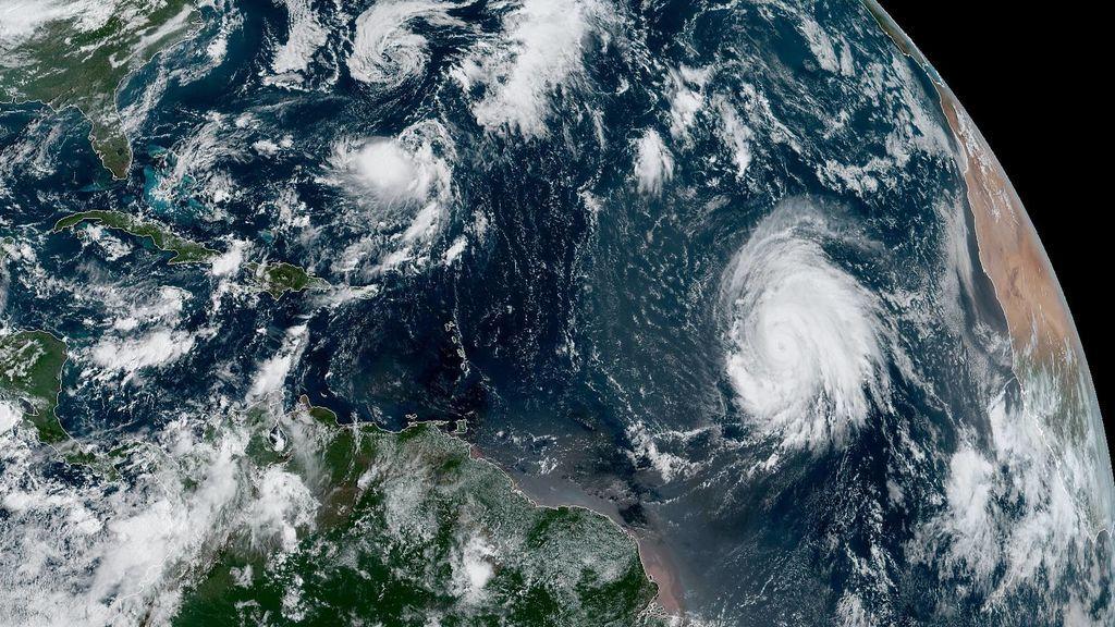 El huracán Lorenzo pone el ojo en Azores: te contamos cómo podría afectarnos