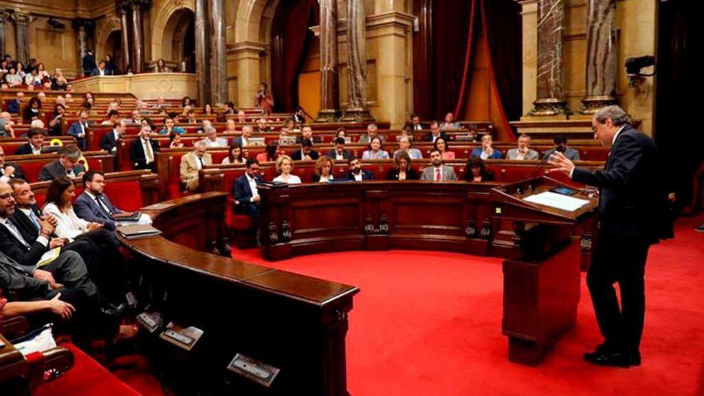 El gobierno estudia impugnar las resoluciiones del Parlament contra la Guardia Civil y en favor de una amnistía