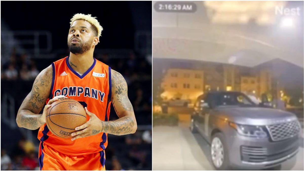 La policía publica las imágenes sobre el asesinato del ex NBA Andre Emmet