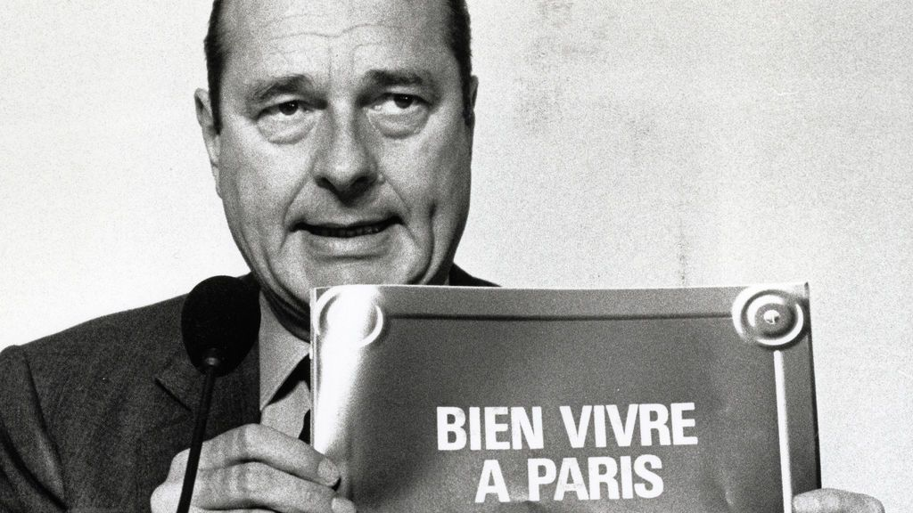 La vida de Jacques Chirac en fotos