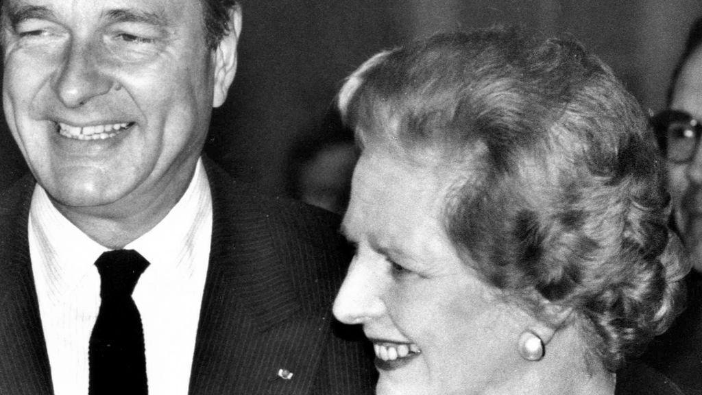 Chirac y su relación con Reino Unido