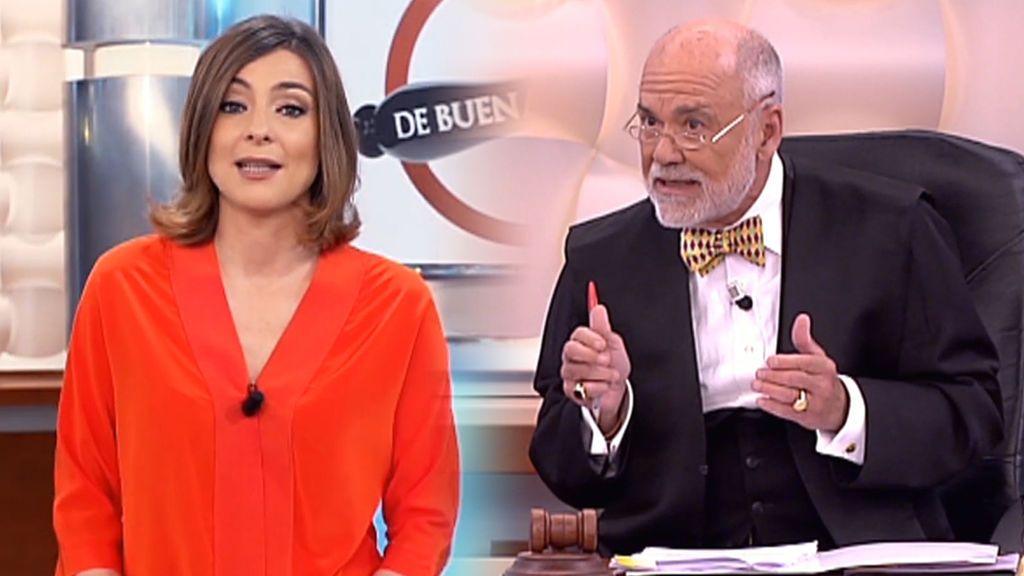 El último 'De Buena Ley' que se emitió en Telecinco