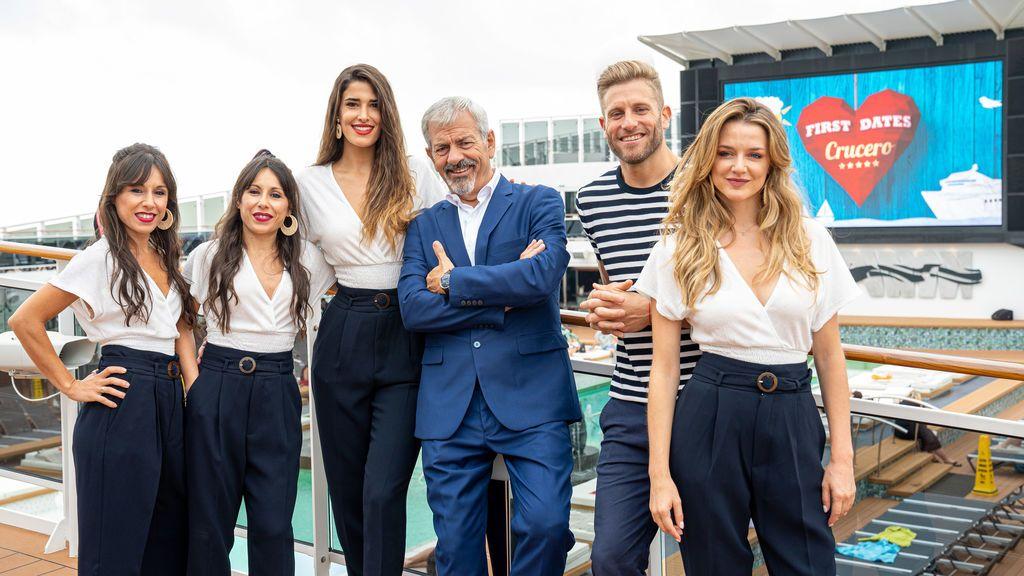 Cuatro inicia la grabación de 'First Dates Crucero' a bordo del barco MSC Bellissima
