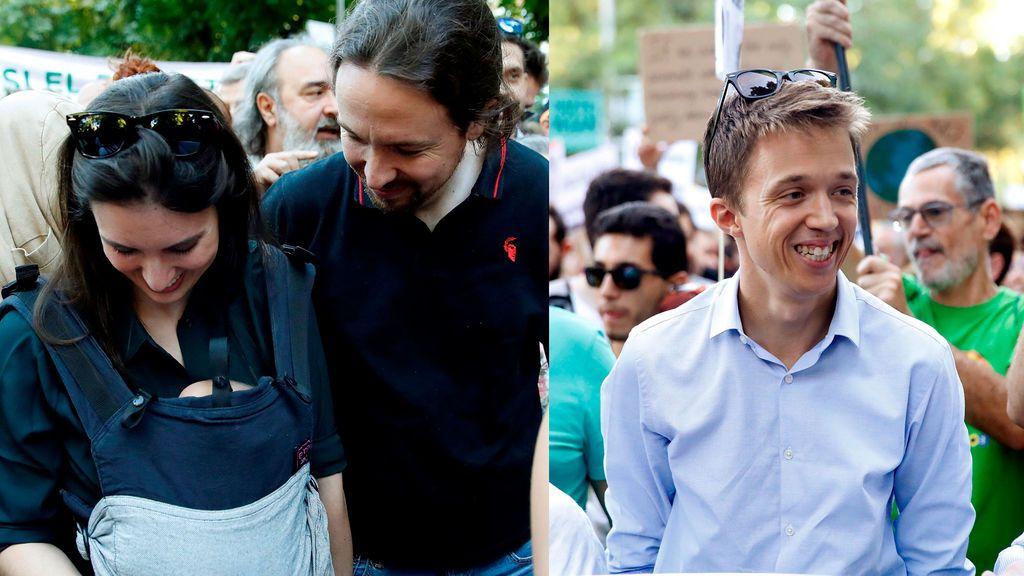 Iglesias y Errejón coinciden en la manifestación contra el cambio climático en Madrid