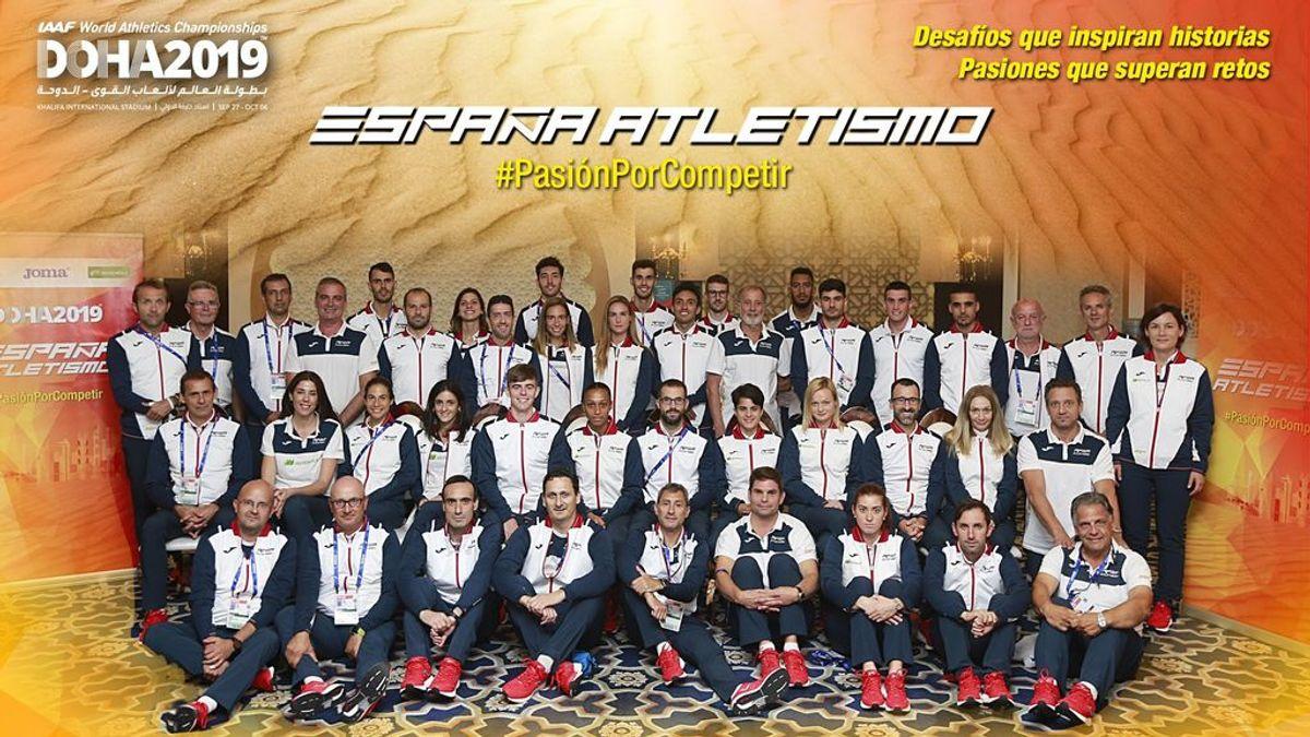 Los atletas españoles, ante el 'infierno' de Doha: las temperaturas alcanzan los 50 grados