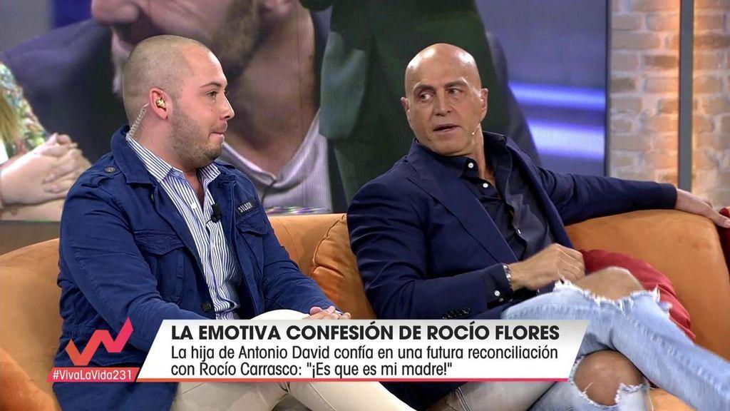 Kiko Matamoros y José Antonio discuten en 'Viva la Vida'