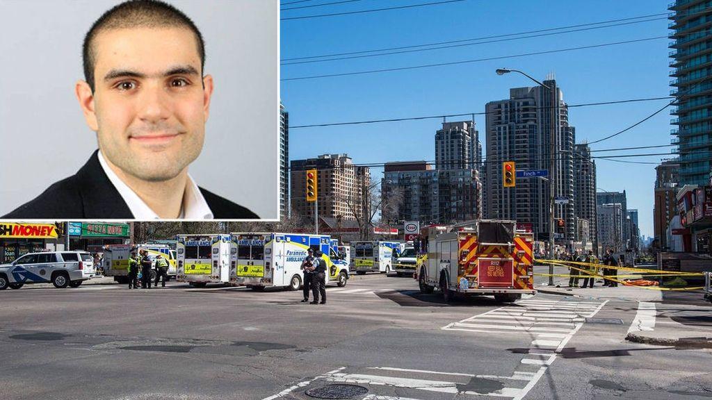 """""""He cumplido mi misión"""": el autor del ataque en Toronto que dejó 10 muertos se muestra insensible"""