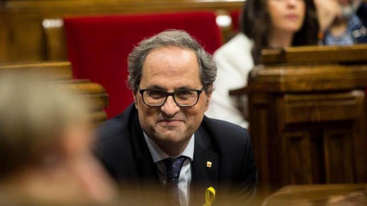 Un CDR confiesa al juez que Torra conocía los planes violentos del ERT para entrar en el Parlament