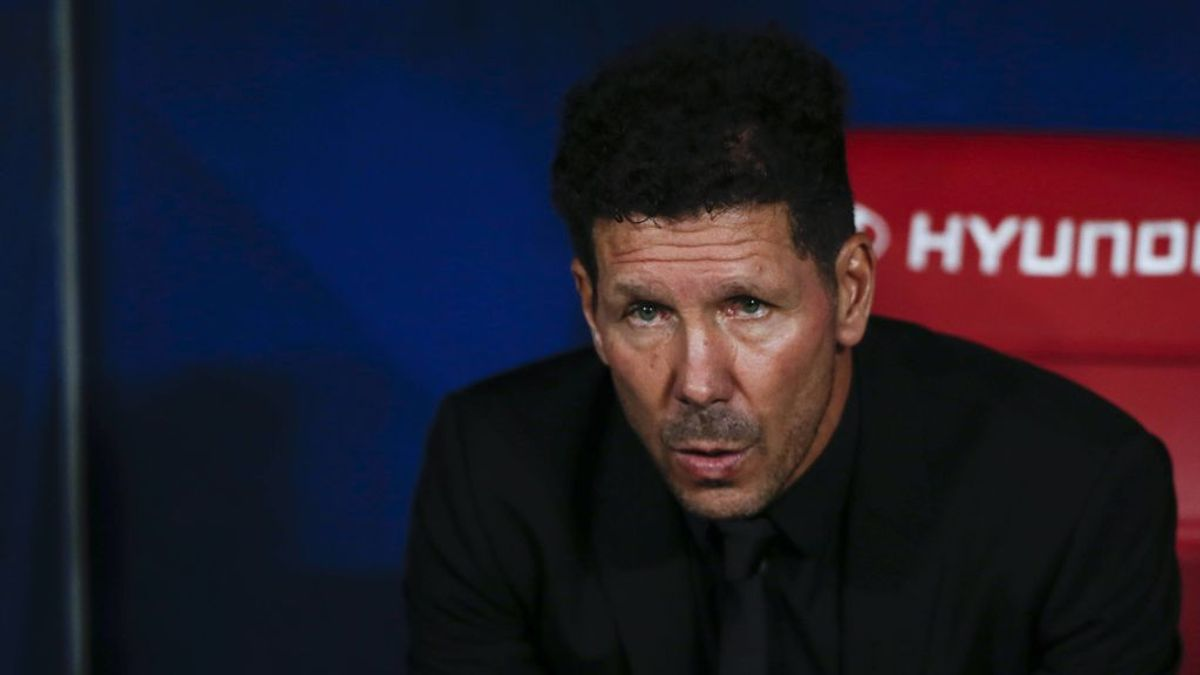 """Simeone denuncia en el descanso las palabras de Sergio Ramos al juez de línea: """"La puta que te parió"""""""