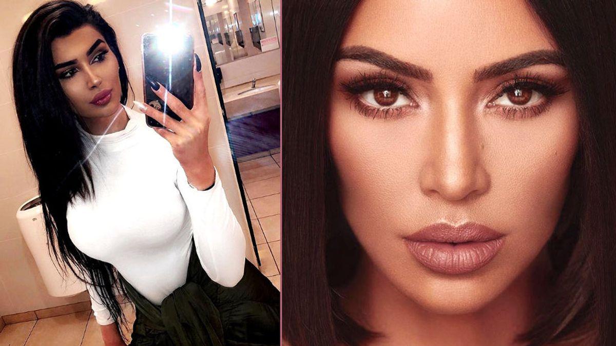 Doble de Kim Kardashian