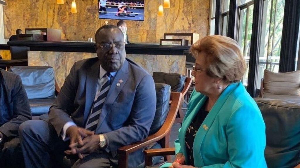 El ministro de Asuntos Exteriores haitiano considera la Agenda 2030 clave para el futuro de la Humanidad