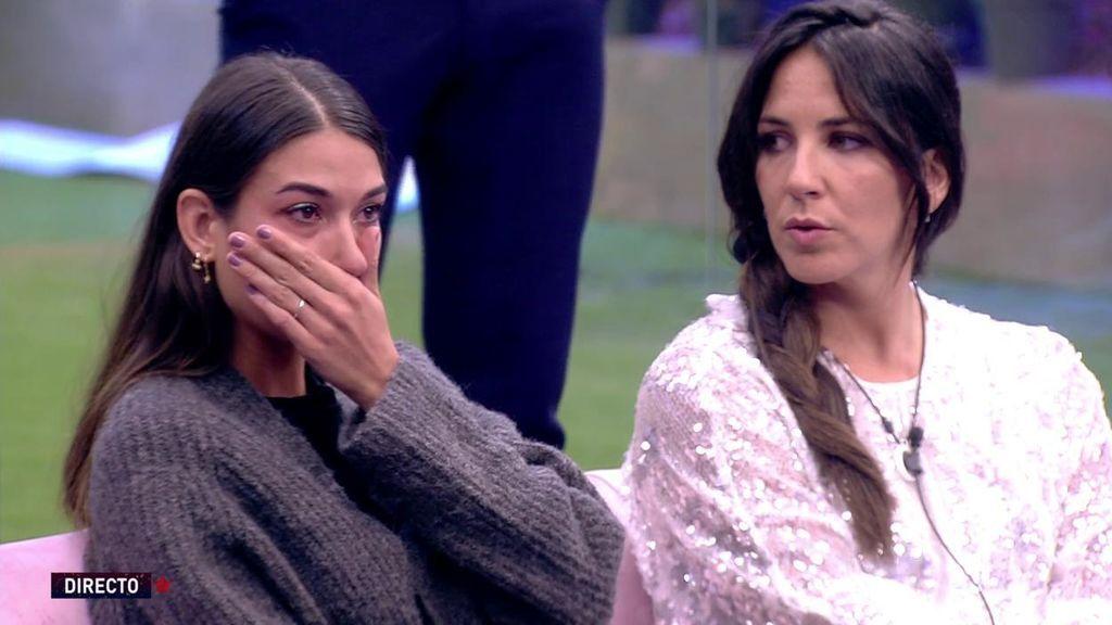 """Estela Grande se viene abajo: """"Mi pareja está por encima de cualquier celo absurdo"""""""
