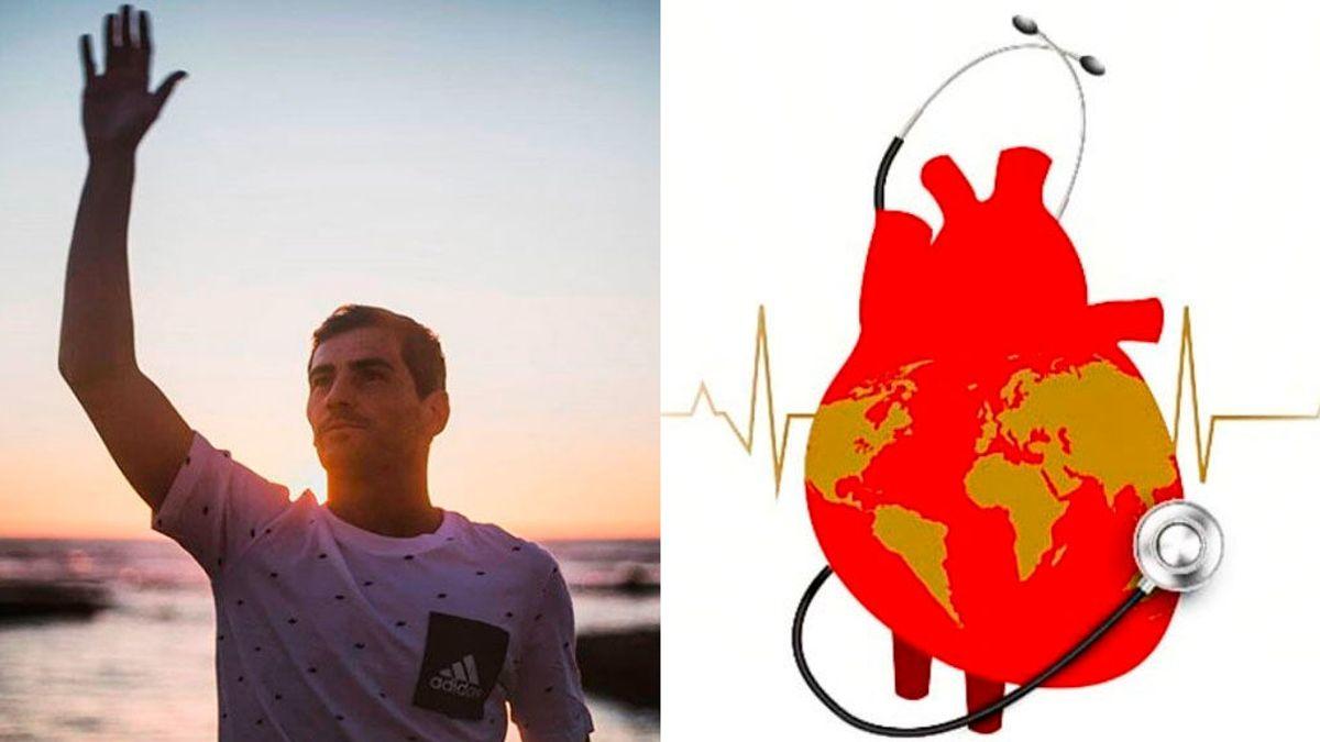 """El mensaje de Iker Casillas en el Día Mundial del Corazón: """"Celebrar la vida latido a latido"""""""