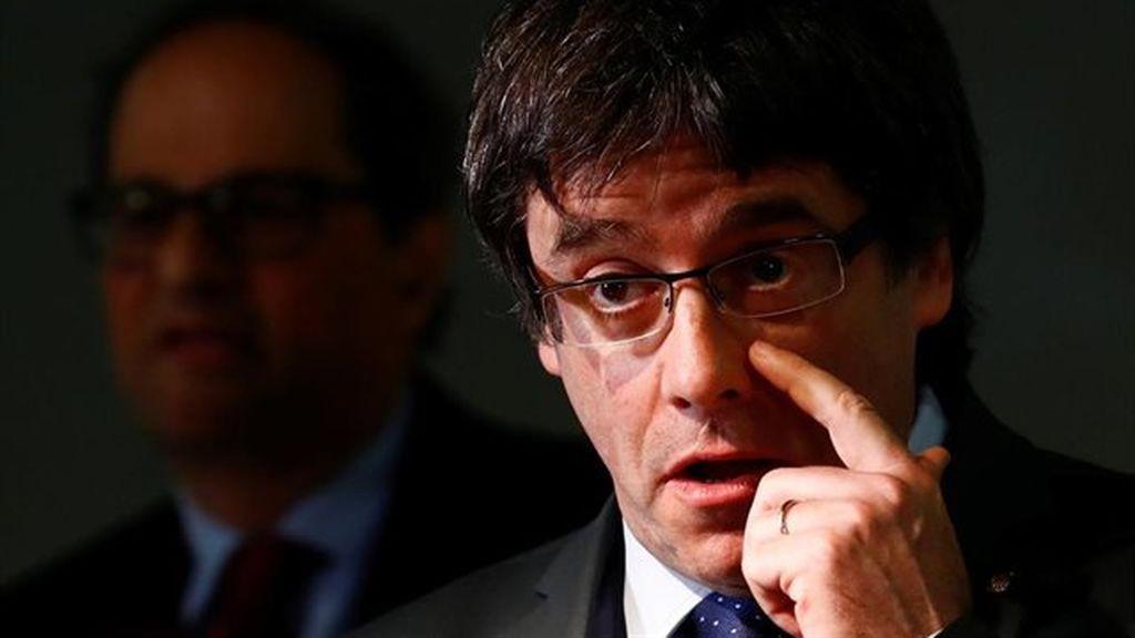 """Los CDR se vieron con la hermana de Puigdemont para entablar comunicaciones """"seguras"""" entre Torra y el expresident huido"""