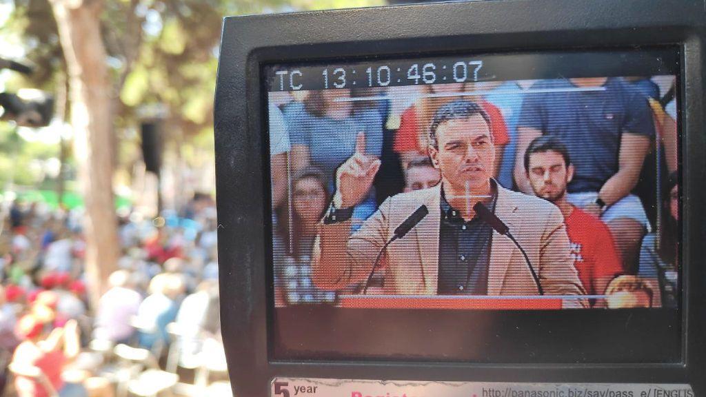 """Pedro Sánchez: """"Si el independentismo vuelve a quebrantar la ley, el Estado Español actuará con firmeza para garantizar la convivencia"""""""