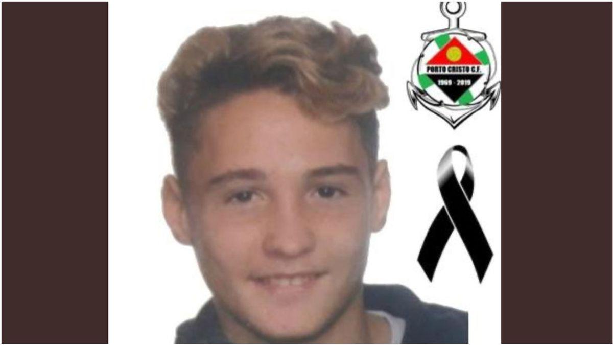 El mundo del fútbol, de luto por el fallecimiento de Isaac Marta, jugador de 17 años del Portocristo Balear
