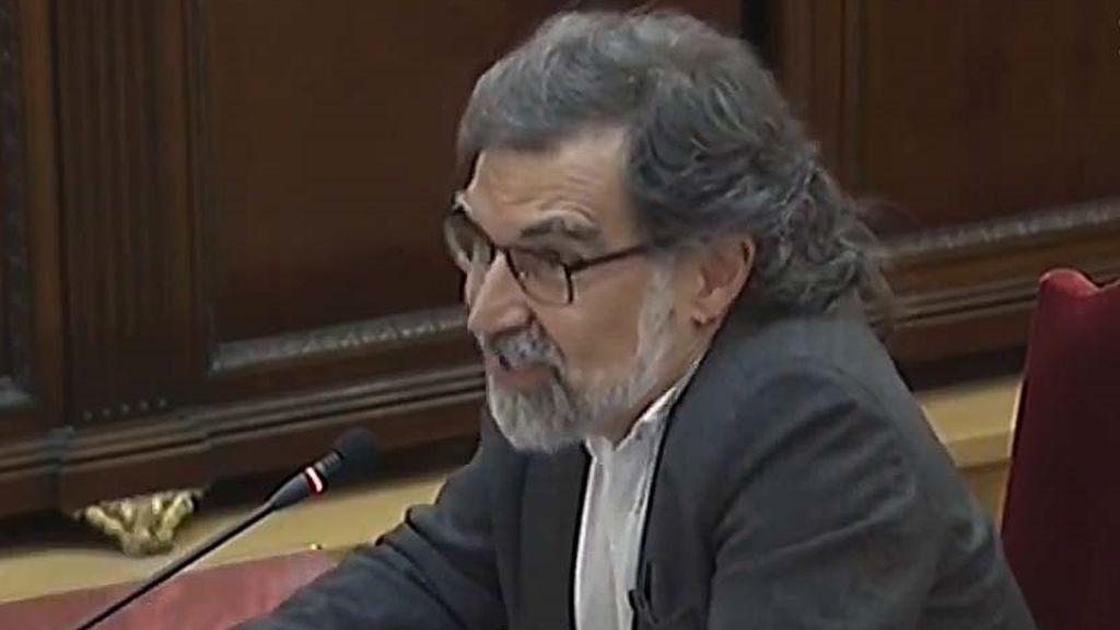 Jordi Cuixart, presidente de la asociación Òmnium Cultural