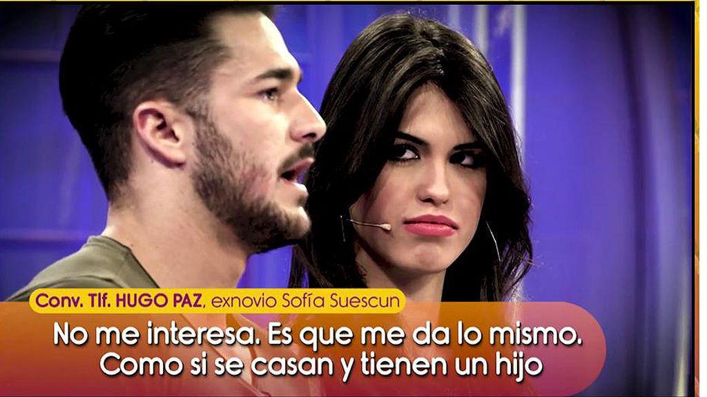 Hugo Paz habla sobre la relación de Kiko y Sofía