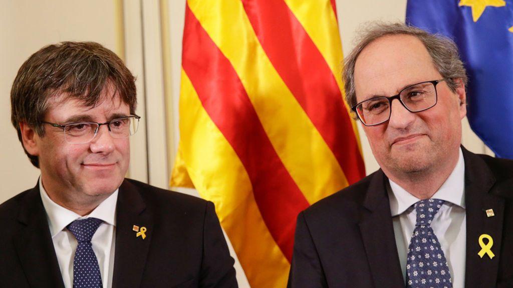 La hermana de Puigdemont niega haberse reunido con  los CDR  y haber hecho de enlace entre Torra  y su hermano