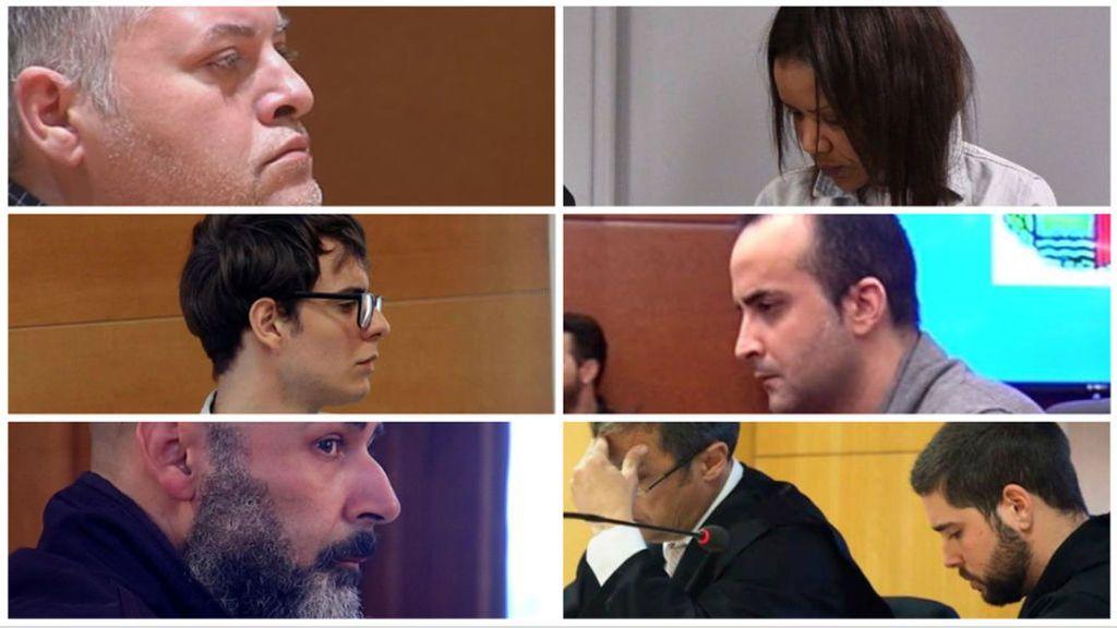 Los otros 10 condenados a prisión permanente revisable, además de Ana Julia Quezada