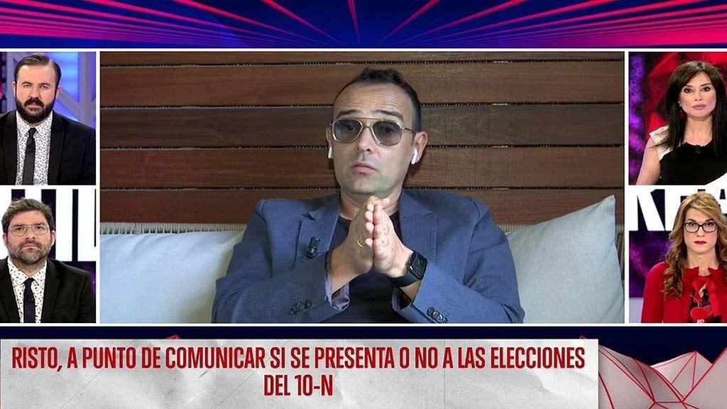 Risto Mejide se da 48 horas para decidir si se presenta  o no a las elecciones del 10-N