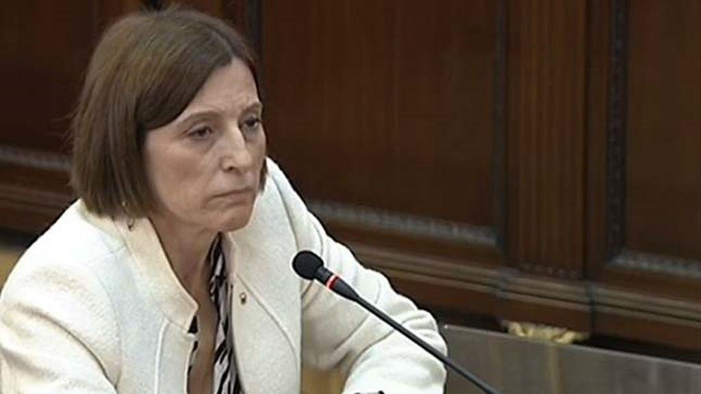 Carme Forcadell, expresidenta del Parlament