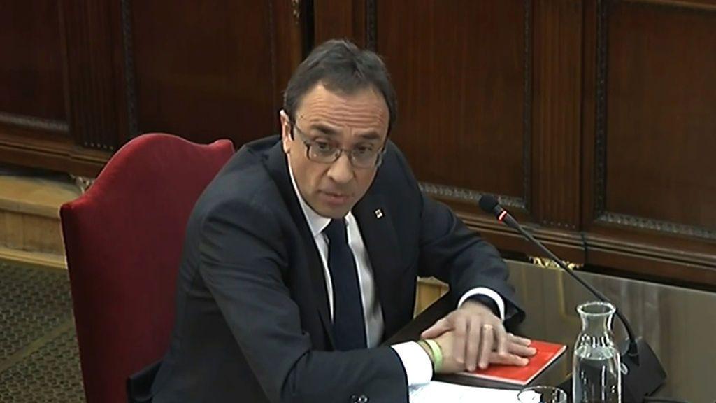 Josep Rull, exconsejero de Presidencia de la Generalitat de Cataluña