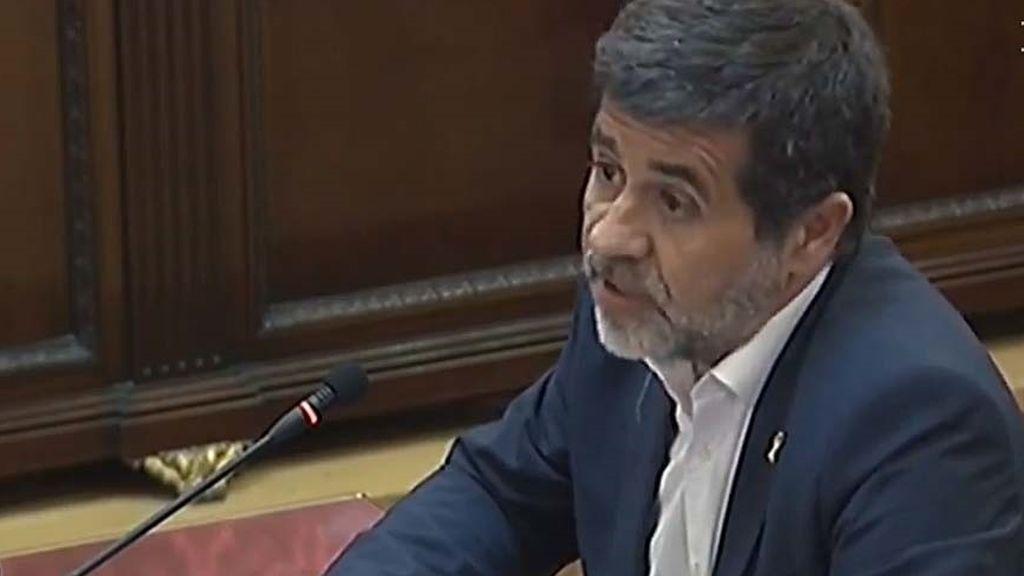 Jordi Sánchez, expresidente de la Asamblea Nacional Catalana (ANC)