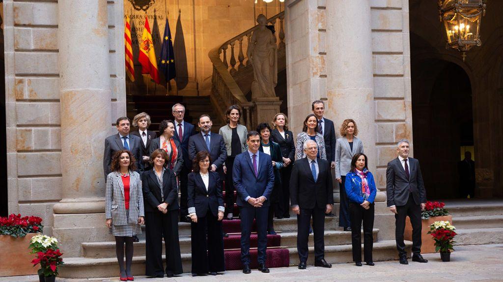 Los CDR ensayaron sus tácticas durante el Consejo de Ministros de Barcelona