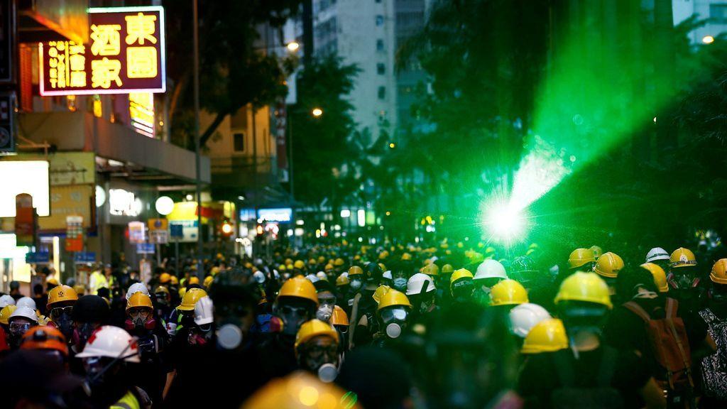 Revueltas en Hong Kong