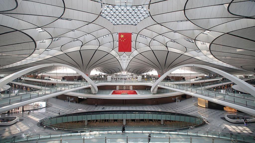El  nuevo aeropuerto de Pekín en forma de estrella de mar con el que China busca impresionar al mundo