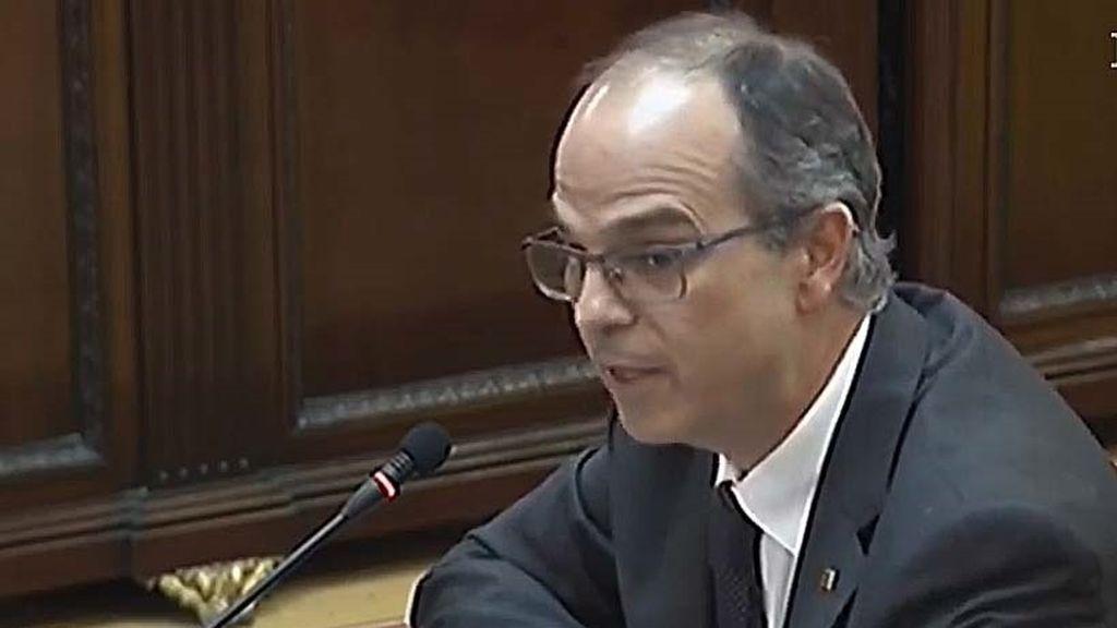 Jordi Turull , exconsejero de Presidencia del Gobierno catalán