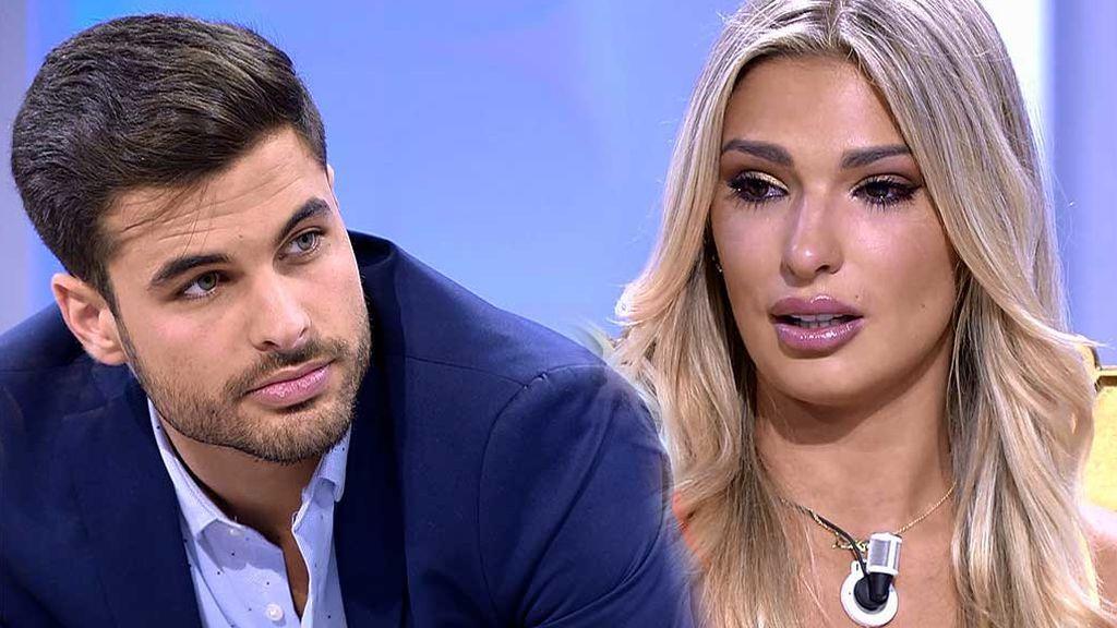 """Luzma, a Miguel: """"Te quiero"""""""