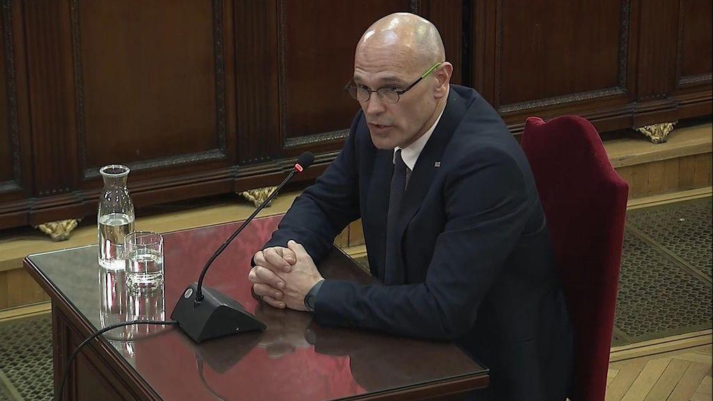 Raül Romeva, exconseller de Acción Exterior del Gobierno catalán