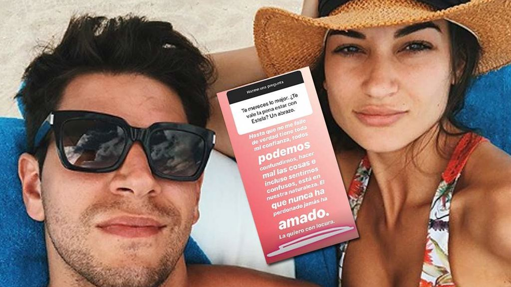 """Diego Matamoros no pierde la confianza en Estela: """"El que nunca ha perdonado, jamás ha amado"""""""