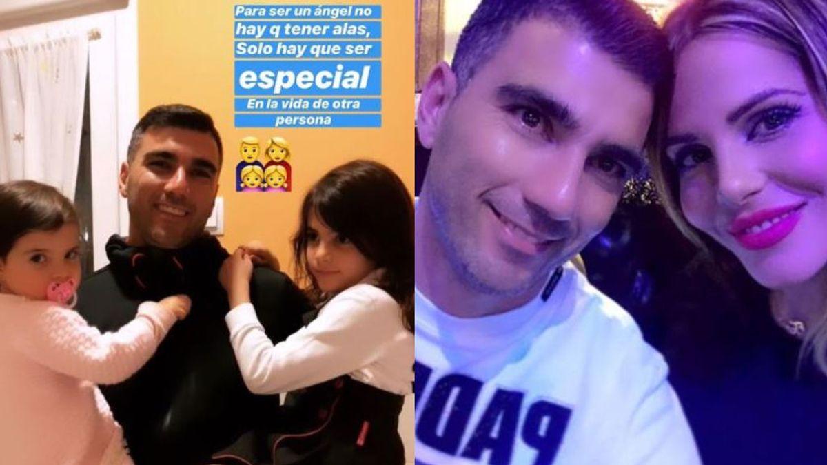"""La viuda de Reyes estalla contra una seguidora que criticó sus recuerdos del futbolista: """"Mi vida es mía"""""""