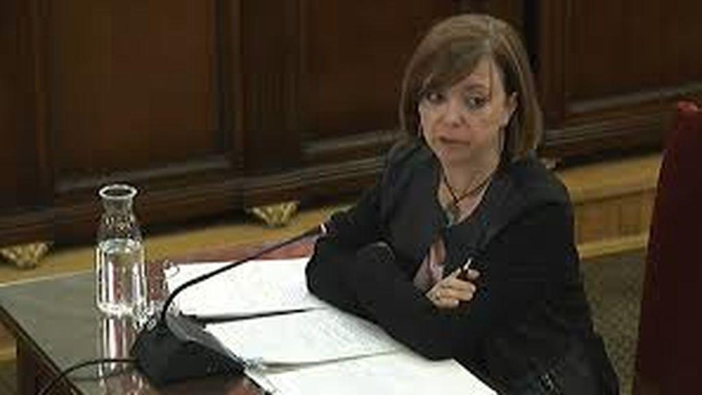 Meritxell Borràs, exconsejera de Gobernación, Administraciones Públicas y Vivienda de la Generalidad de Cataluña