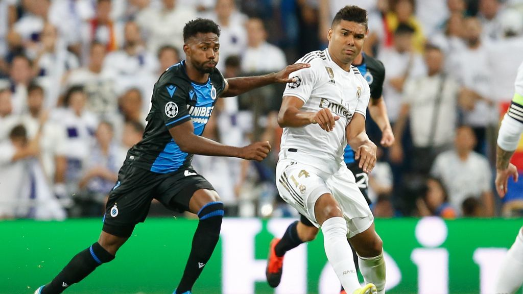 Casemiro salva in extremis un empate para el Real Madrid ante el Brujas (2-2)
