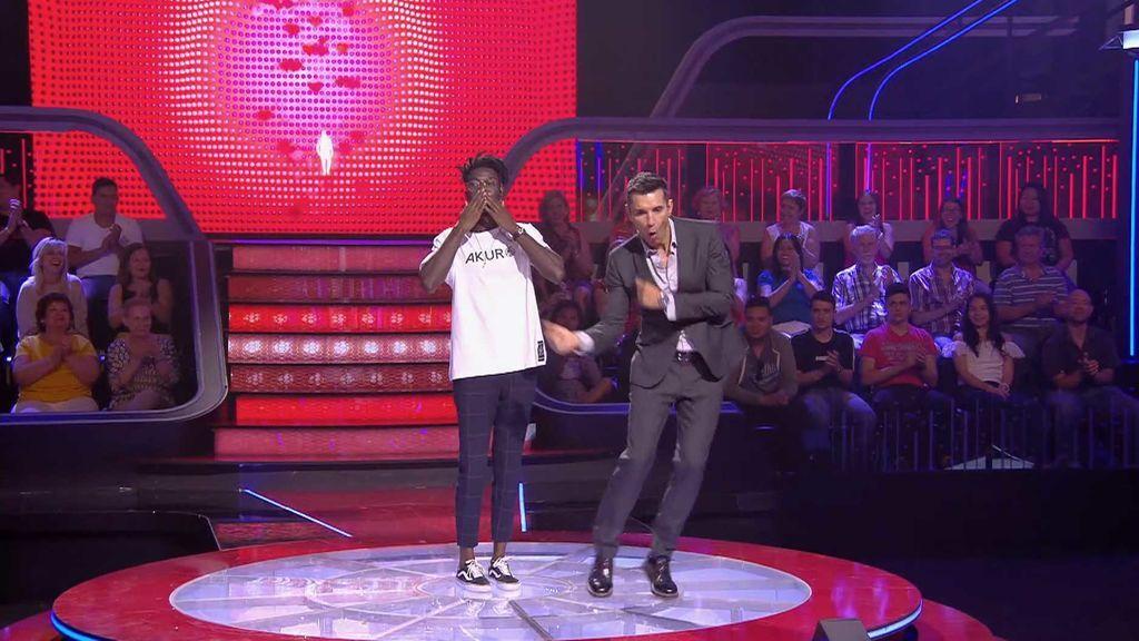 El baile de Daniel Nelso deja a todos impresionados