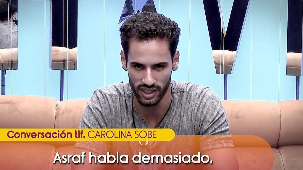 Carolina Sobe señala a Asraf