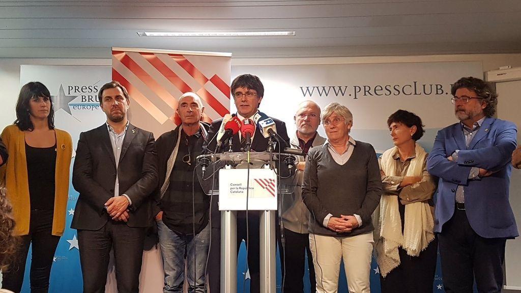 Puigdemont anuncia una 'Asamblea de Cargos Electos' si la sentencia del procés es condenatoria
