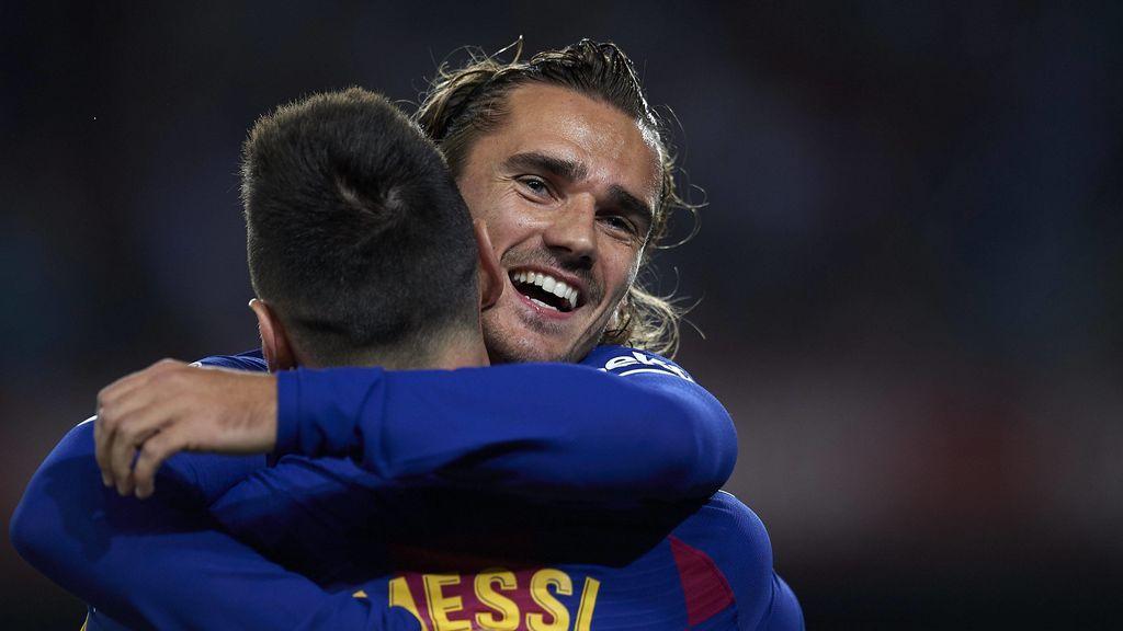 """Griezmann: """"Messi no habla mucho y yo tampoco, pero ya hemos hecho algún mate"""""""