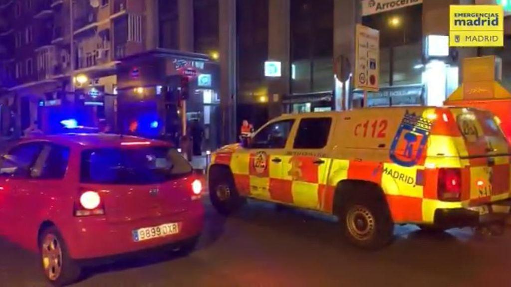 Brutal pelea a tiros y machetazos en Madrid: Hay siete heridos, cuatro graves