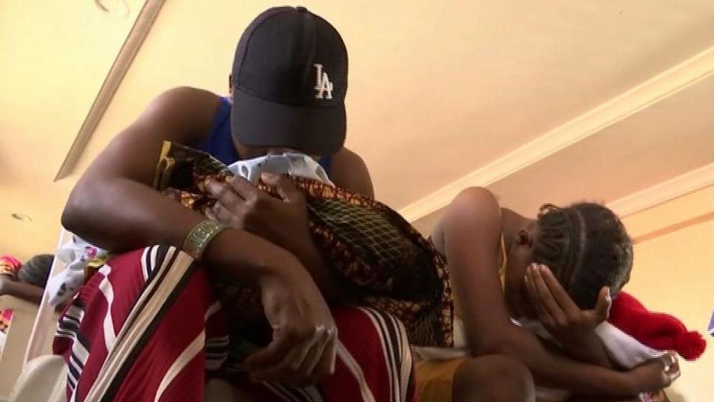 Esclavizadas para procrear: 19 víctimas liberadas de una 'fábrica de bebés' en Nigeria